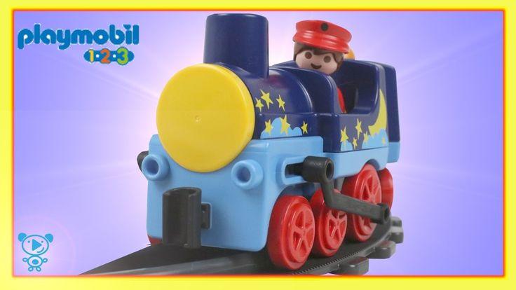 Eisenbahn für Kinder Playmobil 123 Spielset 6880 Spielzeug Unboxing Eise...