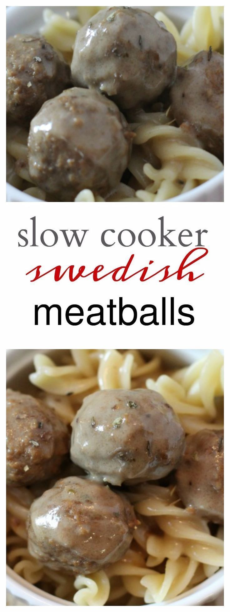A simple slow cooker meal this fall for your family! Everyone loves Swedish Meatballs and this slow cooker version is easy and delicious! You're family will be begging you to make it every week!