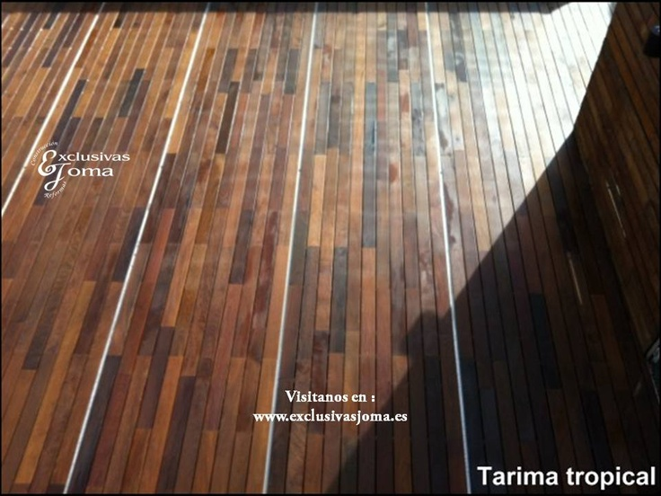 Realizacion de terraza de atico en madrid con tarima - Tarima para terraza ...
