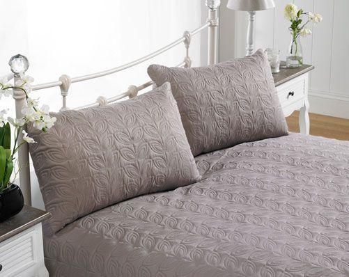 Leaf Bedspread Set