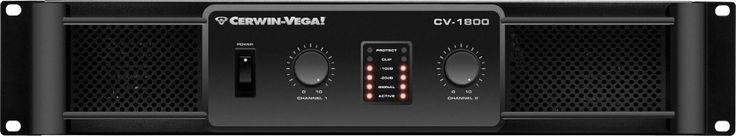 Cerwin Vega Pro Cv-1800 1800-Watt High-Performance Professional Power Amplifier (Discontinued by Manufacturer)