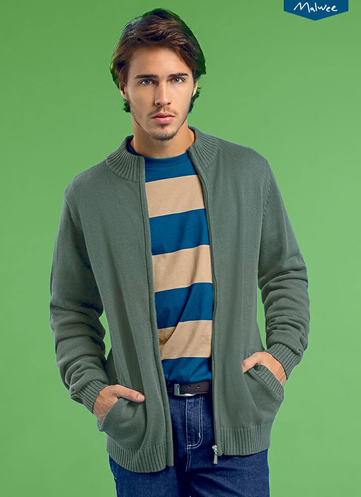 Casacos de lã para deixar os rapazes com aquele jeito arrumadinho. #inverno2014 #fashion #abracobrasileiro www.malweelojavirtual.com.br/