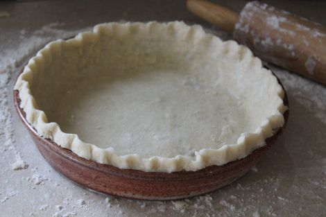 NEVER FAIL COCONUT OIL PIE CRUST! Finally a pie crust without shortening!
