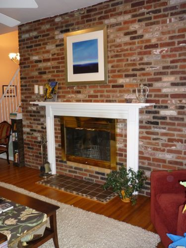 How To Paint A Fireplace Door Do It Yourself Pinterest