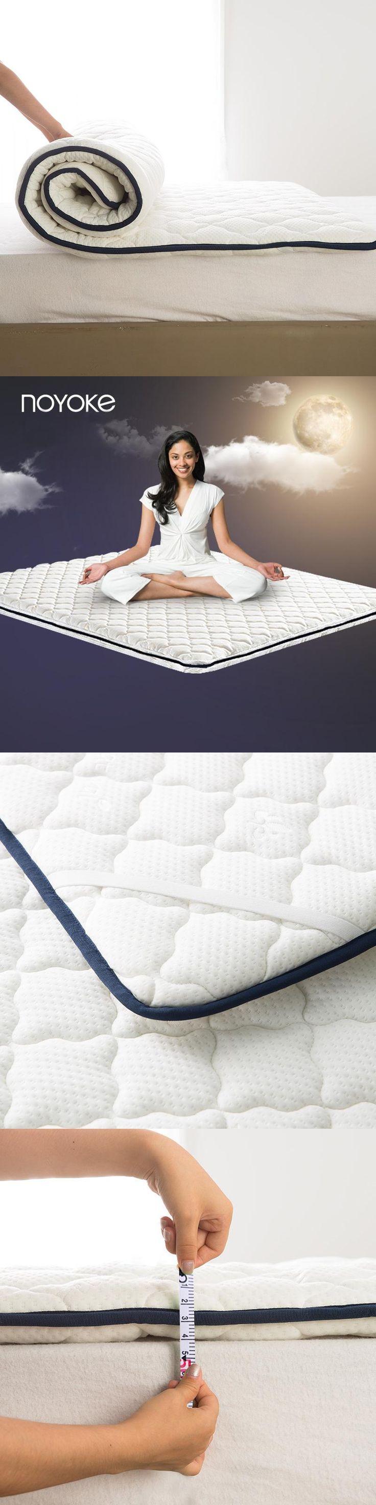 Noyoke Natural Latex Mattress Thickness 4 Cm Folding Soft Tatami Fit For 3 Feet Bed