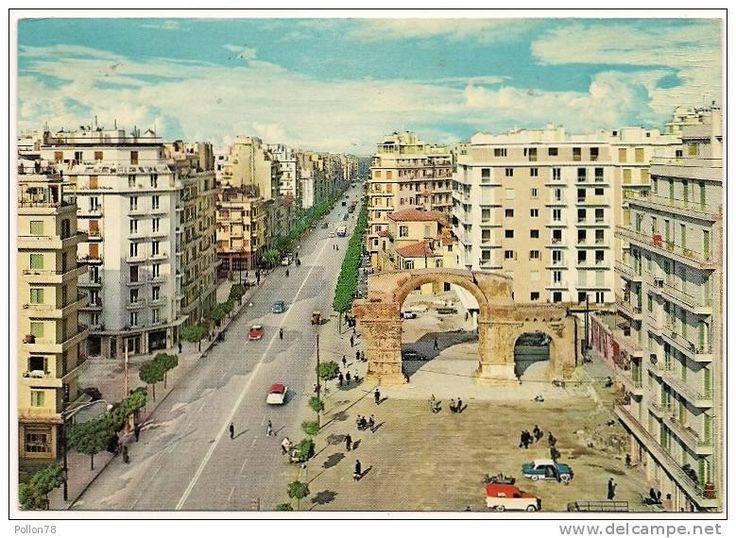 Εγνατία και Καμάρα - του 1969 σύμφωνα με το delcampe  http://www.delcampe.it/page/item/id,156378364,var,THESSALONIKI--EGNATIA-RUE--SALONICCO--1969,language,I.html