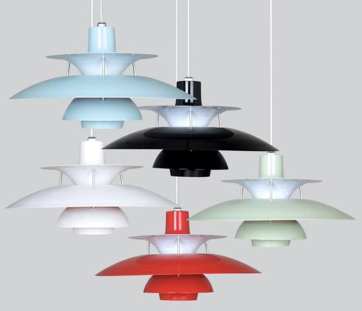 Poul Henningsen's 50 - Designersrevolt lamper.