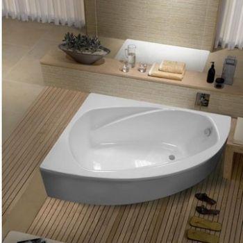 Astra-form Тиора ванна из литого мрамора, левая 155х105 см  26130p