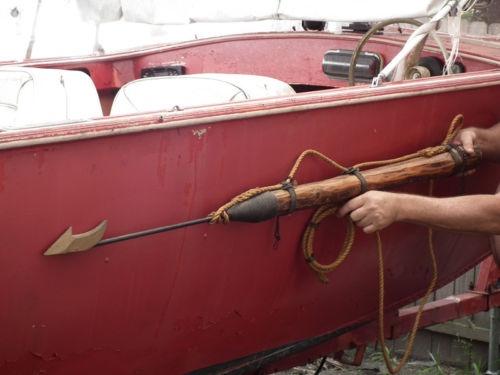 Replica Vintage Whaling Harpoon Spear Whale Nautical