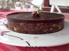 Pişmeyen Çikolatalı Tart   Elifik Mutfakta