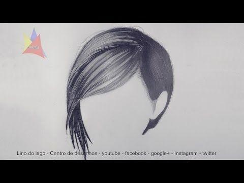 (889) Como desenhar cabelos realistas – Passo a passo simples – YouTube – …   – passo a passo