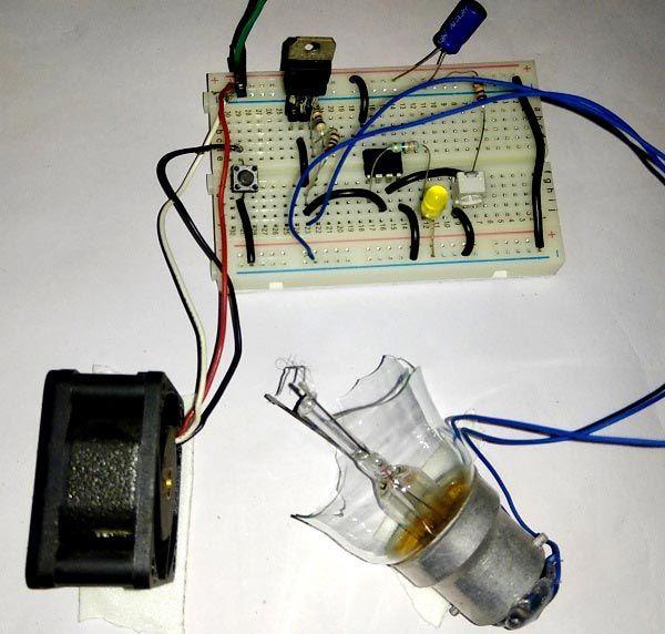 Melody Generator Circuit Diagram Based Ic M66t