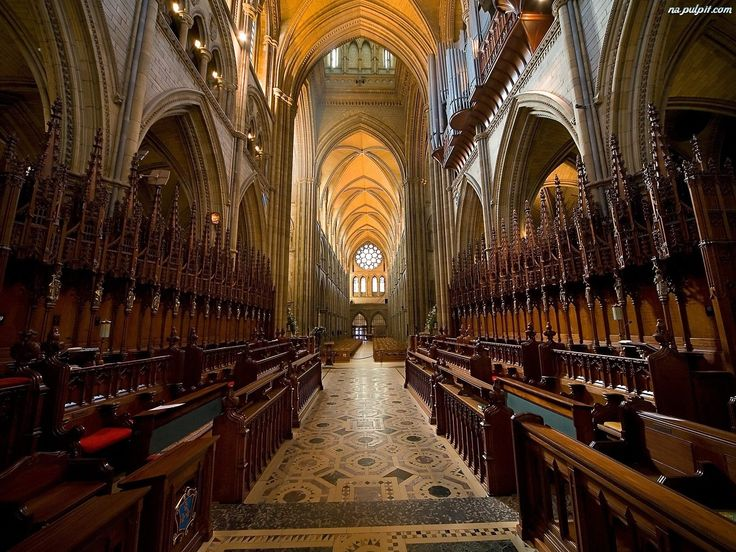 Katedry, Wnętrze, Gotyckiej