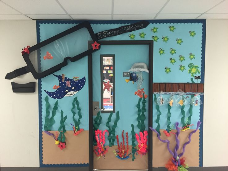 Classroom Ideas Uk : Finding nemo classroom door ideas pinterest