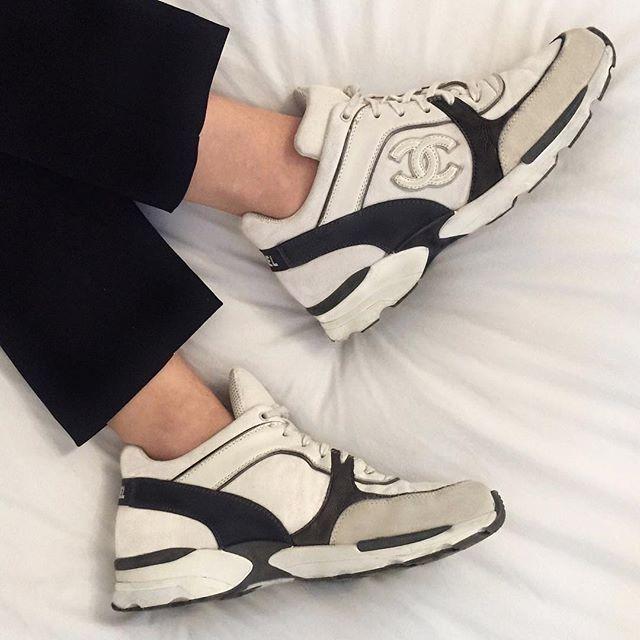 cop vintage Chanel sneakers on hypebae