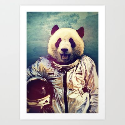 The+Greatest+Adventure+Art+Print+by+Rubbishmonkey+-+$16.00