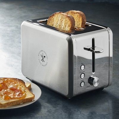 Willaims Sonoma Open Kitchen 2-Slice Stainless Steel Toaster