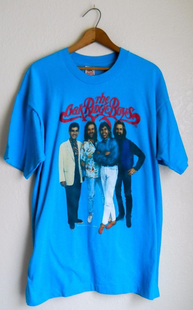 Vtg Oak Ridge Boys 90s 1994 T Shirt XL Country Concert Tour  #FruitoftheLoom #GraphicTee #Casual