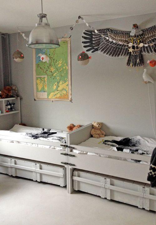 VT wonen The room of my twin boys,  styling: Cleo Scheulderman @vtwonen