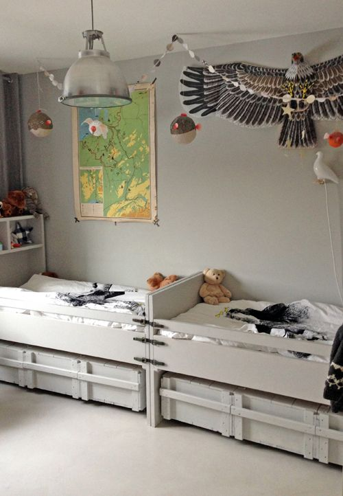 VT wonen The room of my twin boys,  styling: Cleo Scheulderman @vtwonen