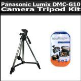 Price Comparisons Of Tripod Kit Contains 50 Inch Pro Tripod + Lcd Clear Display Protectors For The Panasonic Lumix DMC-G10 12.1 MP Digital Camera Ideal Value - http://buyingmanual.com/price-comparisons-of-tripod-kit-contains-50-inch-pro-tripod-lcd-clear-display-protectors-for-the-panasonic-lumix-dmc-g10-12-1-mp-digital-camera-ideal-value.html