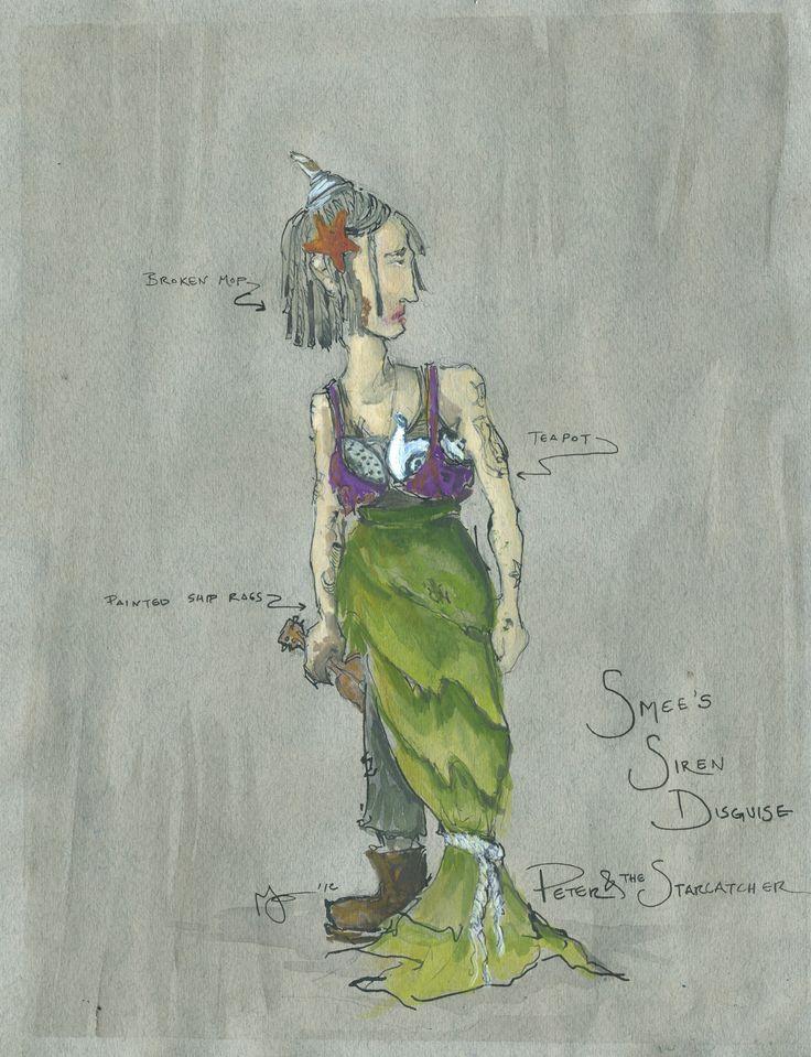 Peter and the Starcatcher Original Costume DesignPaloma