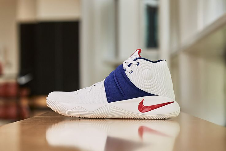 Following the Cleveland Cavaliers' incredible NBA Finals victory, Nike is releasing a red, white and blue iteration of Kyrie Irving's shoe, the KYRIE 2.