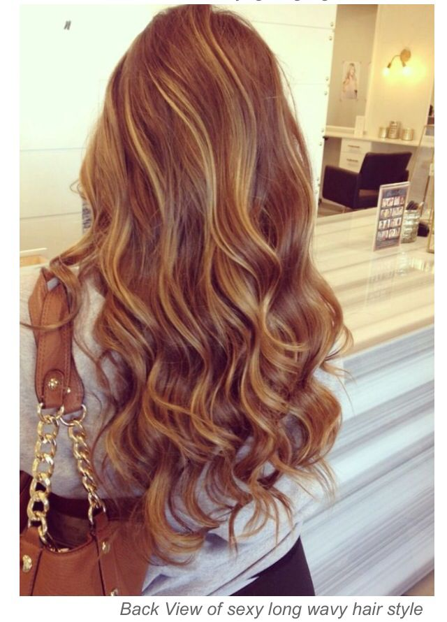 Blonde Highlights Mix With Light Red Hair Color Hair