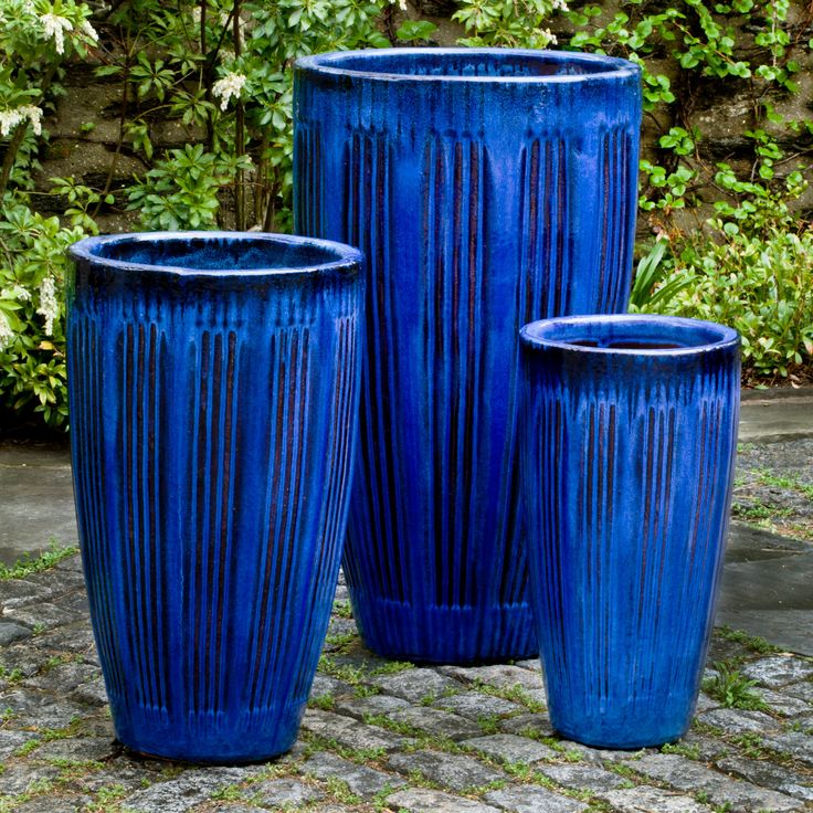 Campania International Montane Planter - Set of 3 - Add a pop of color to your outdoor décor with the Campania International Montane Planter - Set of 3 . The terra cotta construction of this set...