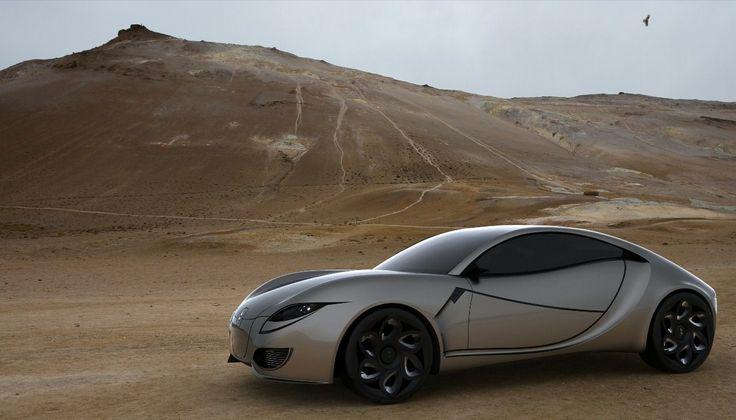 Bozca Zest Car Concept designed by Italian automotive and yacht designer Timur Bozca.