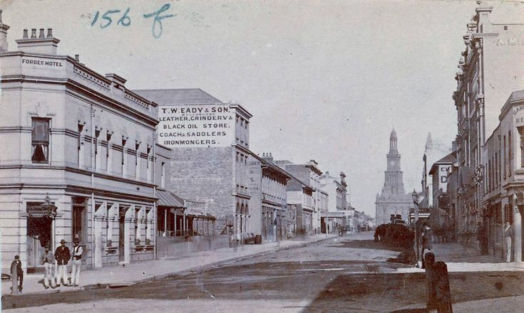 York Street c1877-1879 State Library NSW