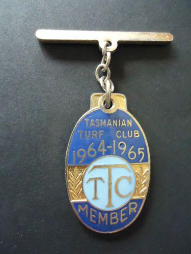 1964-65-TASMANIAN-TURF-CLUB-RACING-MEMBERSHIP-BADGE