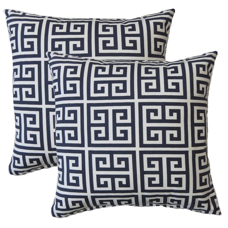 Add a bit of style to a room with this Premier Home Decorative Pillow. The vibrant print of this pillow gives it a modern feel, while the neutral color will work with many different color schemes.