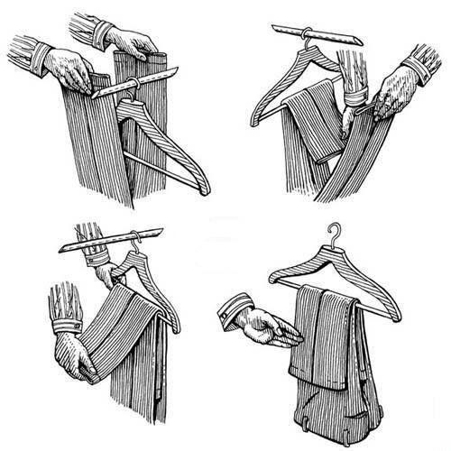 La forma de doblar los pantalones habla de la importancia que le des a tu imagen. Te compartimos la manera correcta de hacerlo.