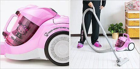 Hello Kitty Vacuum Cleaner | 2dayBlog