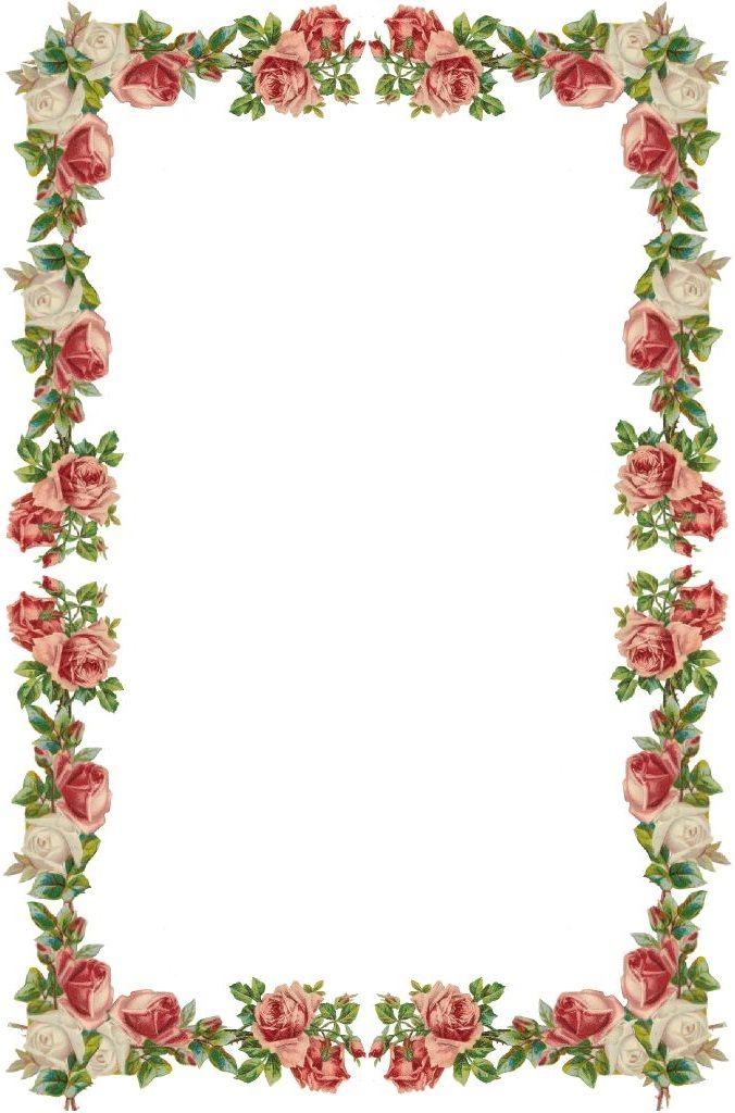 moldura floral