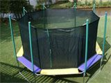 Image of 16 Foot Magic Cage Octagon Trampoline Unit