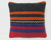 kilim pillow asian rug kilim pouf pillow country pillow outdoor pillow cover tribal cushion cover embroidered pillow couch pillow case 26584