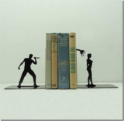 удивительные прохладный творческий забавный дизайн продукта держатели для книг (14)