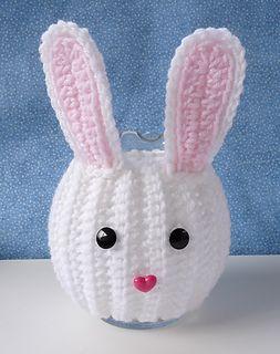 Bunny jar cozy
