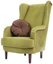 SIGI* fotel zöld szövet Fotelek, lábtartók, ülőkék zöld