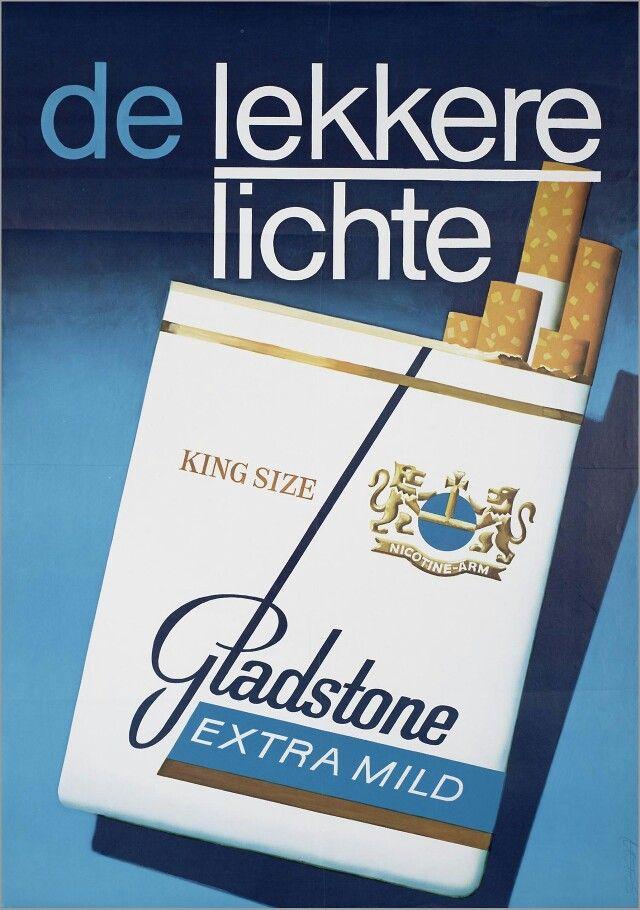 Voor Gladstone sigaretten 1979