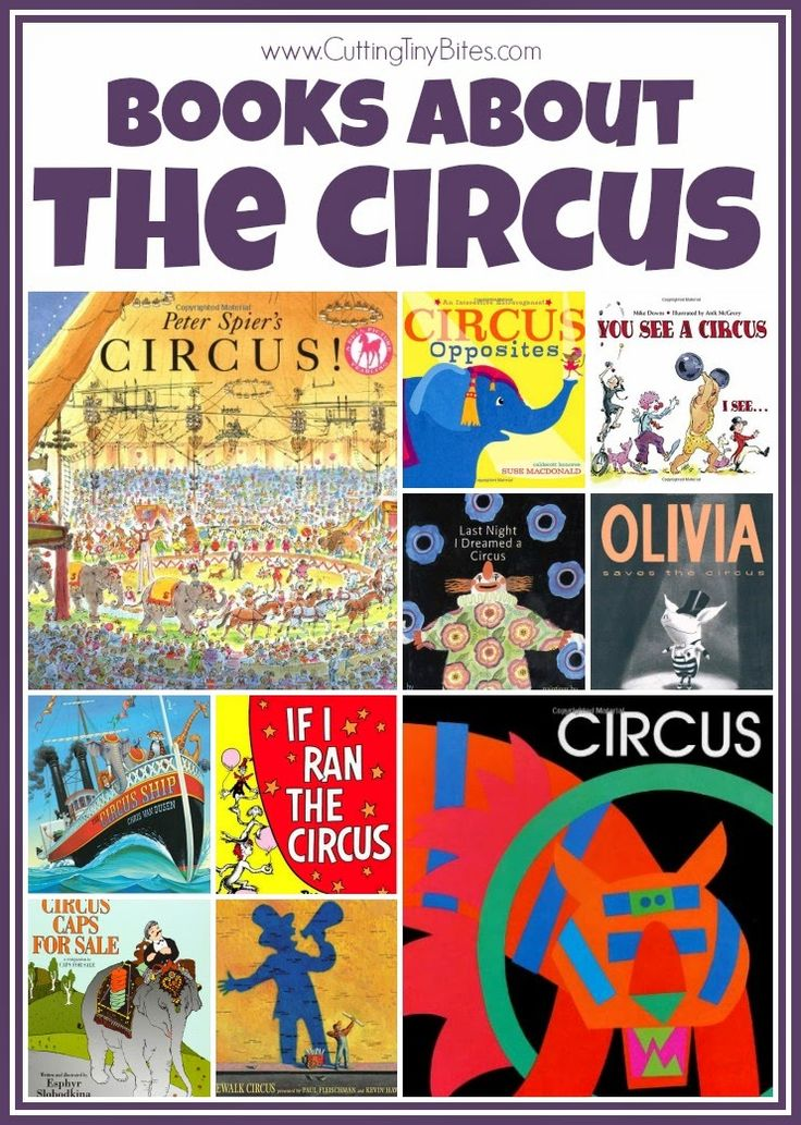 Books about the circus! What's not to love about the circus?! Bright colors, excitement, wonder, and fantastic feats. Books for babies, toddlers, preschoolers, and elementary aged children. Reviews of each!