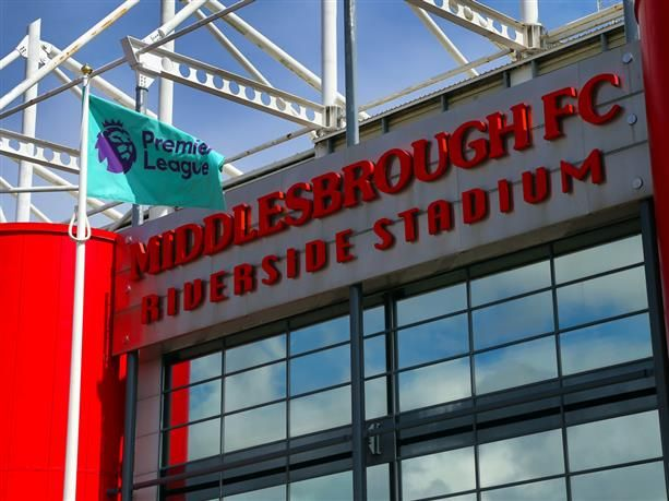 Middlesbrough Football Club Riverside Stadium concourse