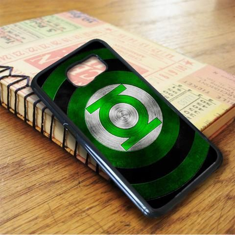 Green Lantern Iron Shield Samsung Galaxy S7 Case