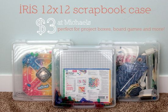best board game containers.  Because, let's face it, kids are always stepping on the cardboard ones they come in.