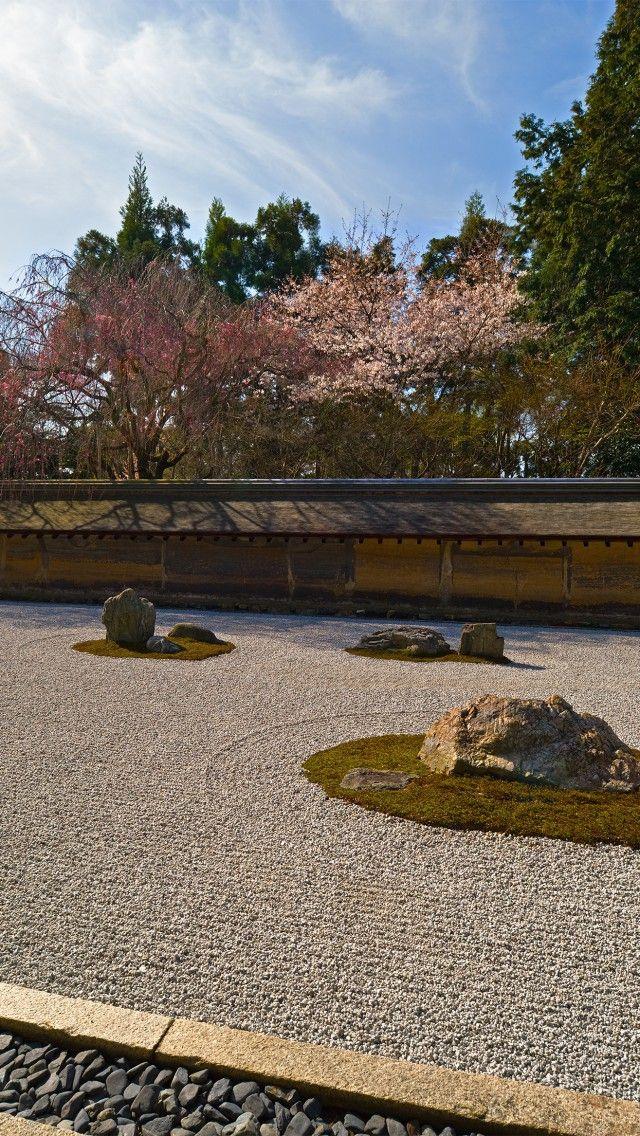 Zen Garten, Ryoanji Tempel