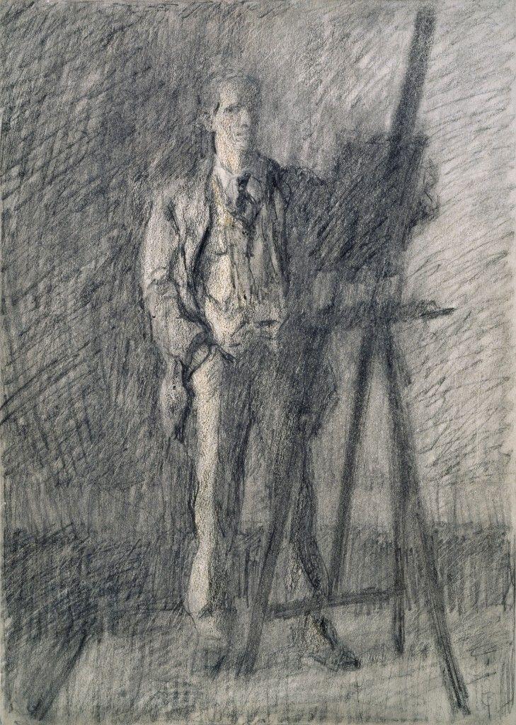 Jack B. Yeats, self-portrait
