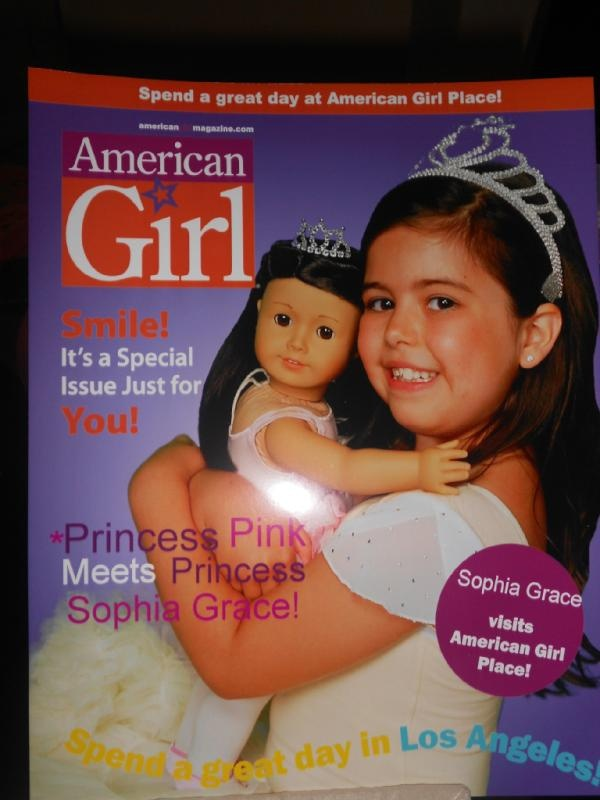 Sophia Grace is an American Girl