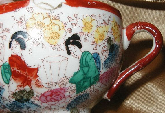 Old Japanese Tea Cup